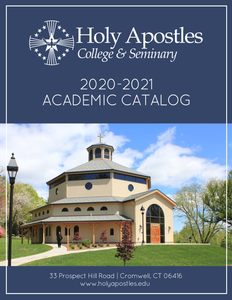 Cover page for Academic Catalog